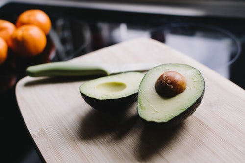 balanced healthy avocado diet